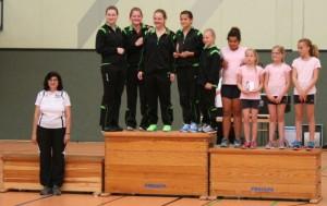 Gaumeister Mannschaft 2014